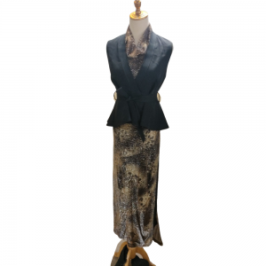 Golden Dress outfit For Rent
