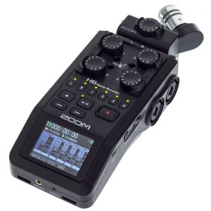 ZOOM H6 RECORDER FOR RENT