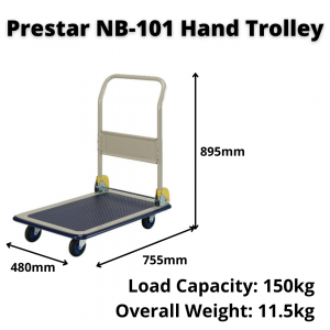 Prestar NB-101 Hand Trolley/Portable Truck for Rent   Tools   RentSmart Asia   Renting Is The New Buying