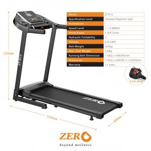 ZERO Healthcare Treadmill ZT-R15 for Rent | Sports | RentSmart Asia | Renting Is The New Buying