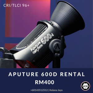 Aputure 600D Pro for Rent | Lighting | RentSmart Asia | Renting Is The New Buying