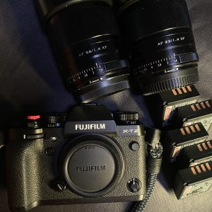 Fujifilm XT2 with 23mm f1.4 + 56mm f1.4 + 5X W126s batteries for Rent   DSLR   RentSmart Asia   Renting Is The New Buying