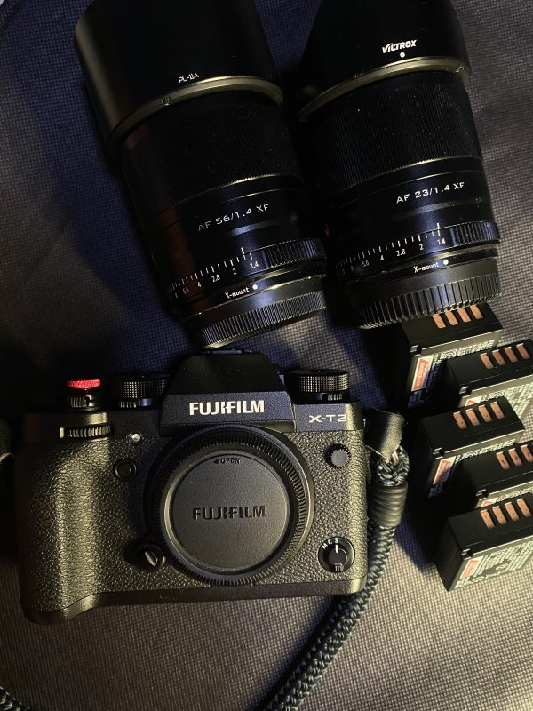 Fujifilm XT2 with 23mm f1.4 + 56mm f1.4 + 5X W126s batteries for Rent   RentSmart Asia   Renting Is The New Buying