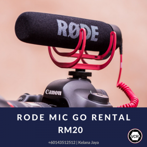 Rode Mic Go for Rent | Other Equipments | RentSmart Asia | Renting Is The New Buying