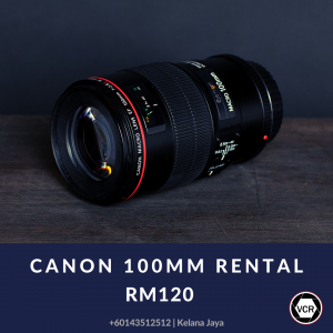 Canon 100mm Macro Camera Lens for Rent   Lenses   RentSmart Asia   Renting Is The New Buying