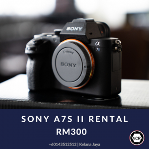 Sony A7S II Mirrorless Camera Body for Rent   Mirrorless   RentSmart Asia   Renting Is The New Buying