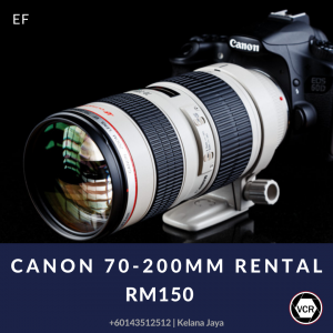Canon 70-200 Camera Lens for Rent   Lenses   RentSmart Asia   Renting Is The New Buying