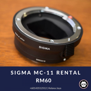 Sigma MC-11 for Rent   Lenses   RentSmart Asia   Renting Is The New Buying