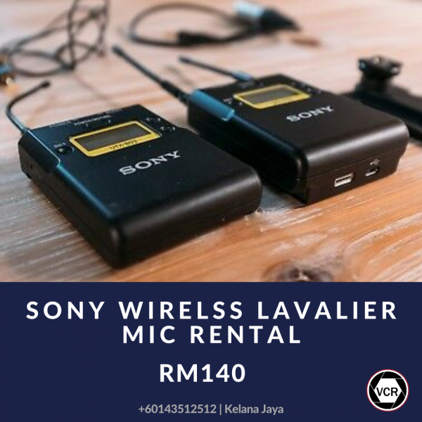 Sony Wireless Mic for Rent | RentSmart Asia | Renting Is The New Buying