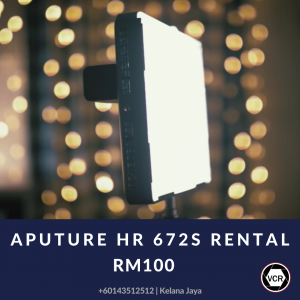 Aputure HR 672S for Rent | Lighting | RentSmart Asia | Renting Is The New Buying