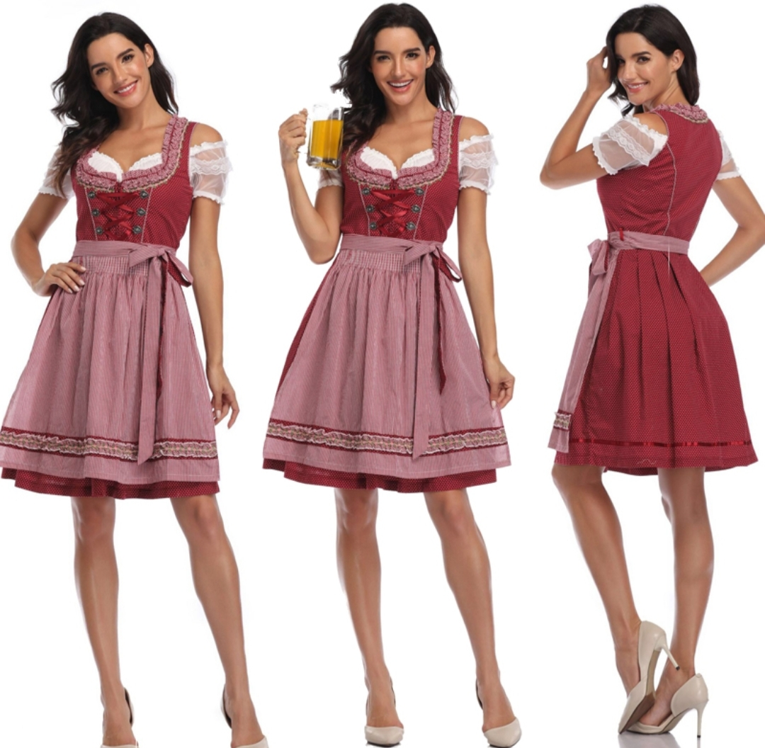German Traditional Female Dirndl (October Fest - Beer Fest) for Rent | RentSmart Asia | Renting Is The New Buying