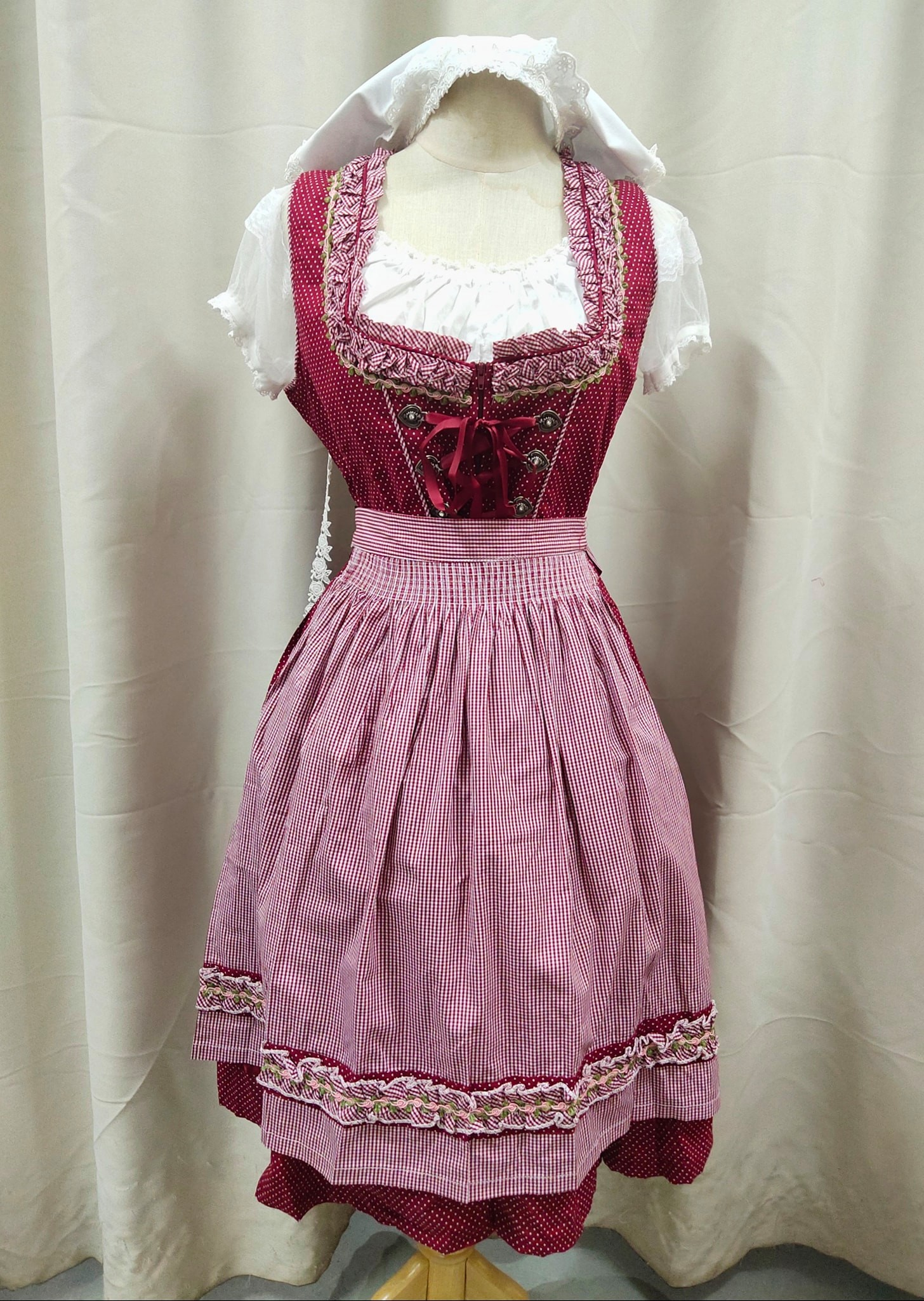 German Traditional Female Dirndl (October Fest - Beer Fest) for Rent | Clothing & Accessories | RentSmart Asia | Renting Is The New Buying